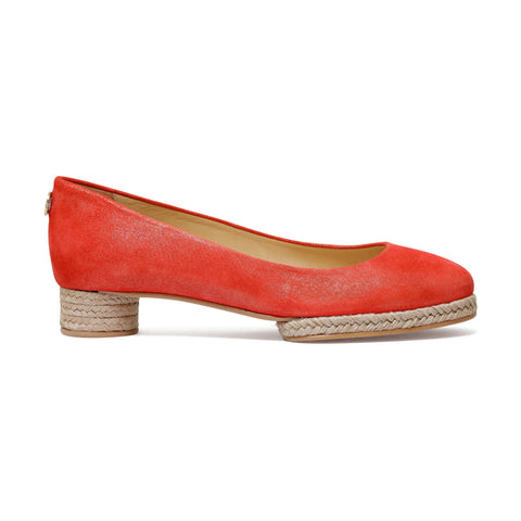 Giulia Red - ballerina pump