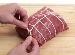 Grass Fed & Grass Finished Lamb Roast, Trussed Bone Out, Approx. 2-3 LB - Circle C Farm