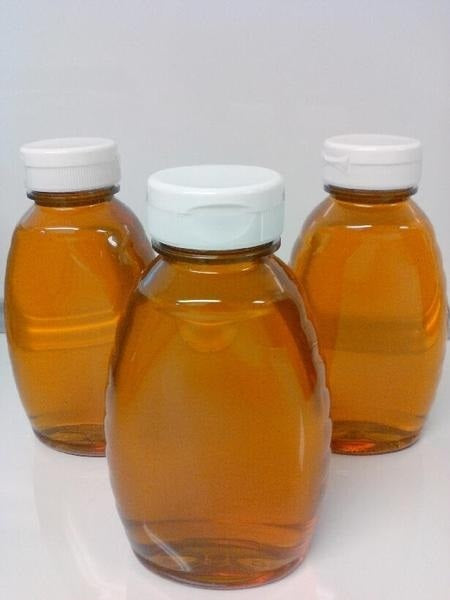 Tropical Blend Honey, Raw Unfiltered 1/2 LB, 8 Oz Bottle - Circle C Farm