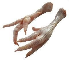 Pastured Chicken Feet or Paws - Circle C Farm