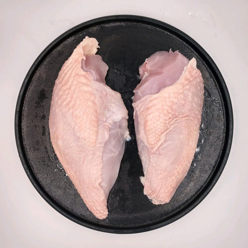 Pastured Chicken Breast, Boneless/ Skin On, 10 lbs - Circle C Farm