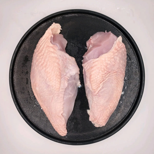 10 Pounds Boneless Skin On Chicken Breast, Pastured Raised Chicken Breast