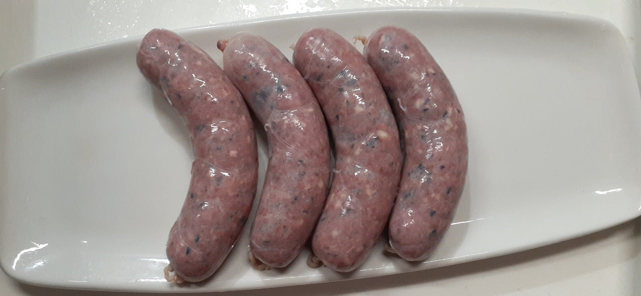 Beef Sausage Chorizo Style With Black Beans Large Links
