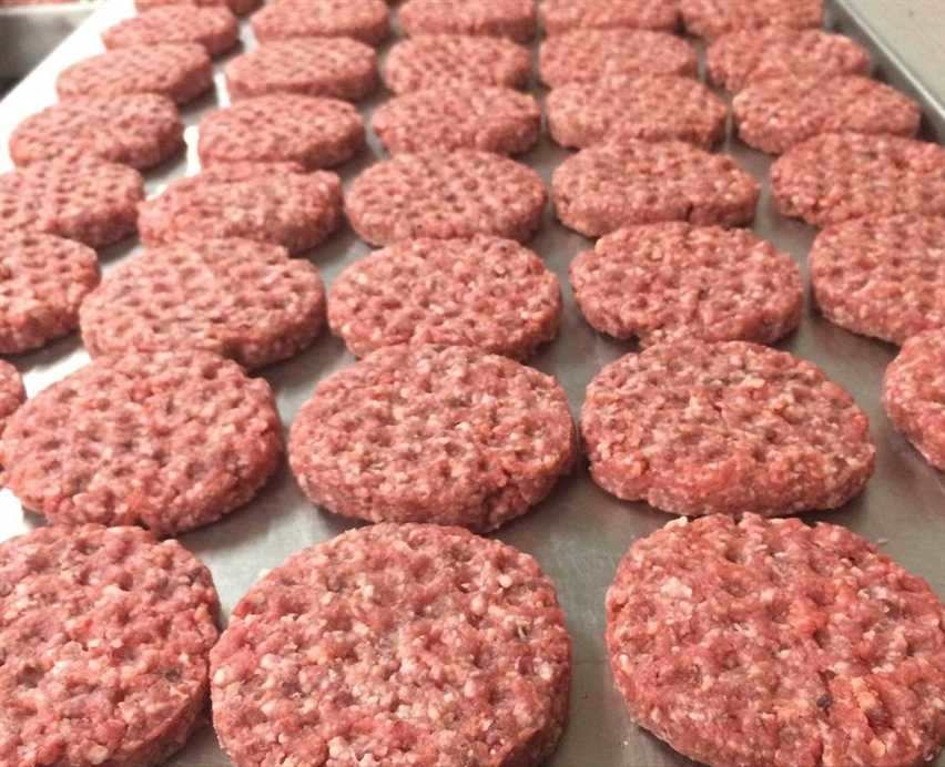 Grass Fed & Grass Finished Beef Hamburger Patties, Keto / Approx. 50 Lean Meat / 50 Fat Blend, - Circle C Farm