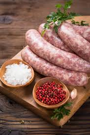 Grass Fed & Grass Finished Lamb Sausage with Sage Breakfast Sausage, LARGE links - Circle C Farm