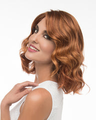 Natural Collection Apricot - medium length wavy wig