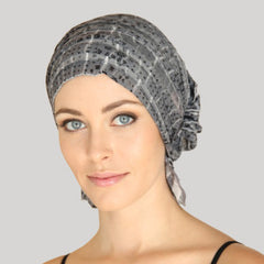 Chemobeanie Kay hat scarf for hair loss chemotheraphy