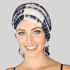 Chemobeanie Rebecca hat scarf for hair loss chemotheraphy cancer sufferer