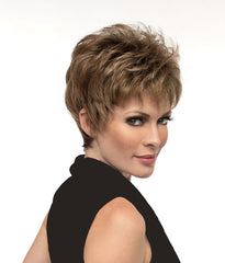 Hairware Natural Collection Elderflower Wig - short spiky wig