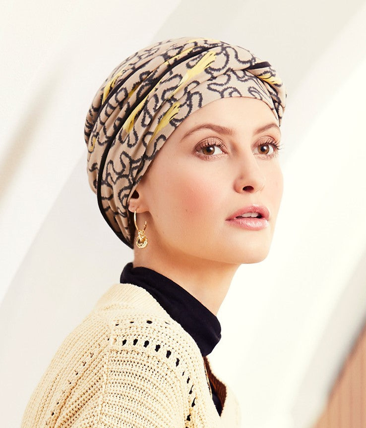 Emmy V Turban - Printed (1463-0662)
