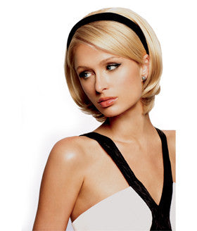 head band hair band hair on band heat resistant bob length hair paris hilton