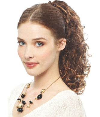 Revlon Quick Clip 2 Layered (Formerley Charm Curly) Clip on Curly Ponytail