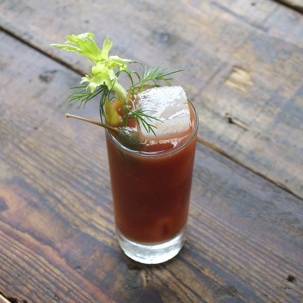 The Bourbon Bloody Mary