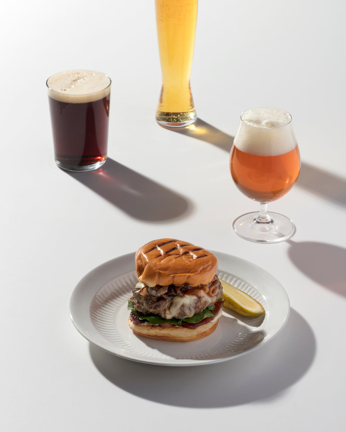 The Two-Beer Burger