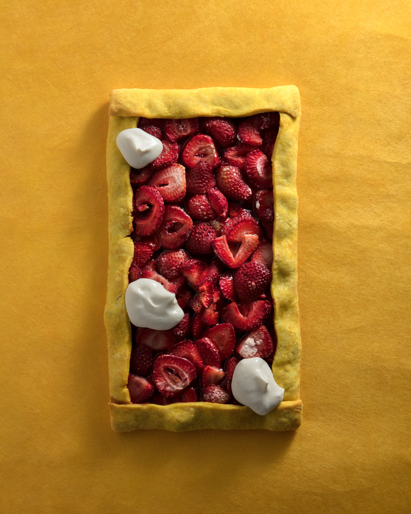 Strawberry-Tamarind Tart