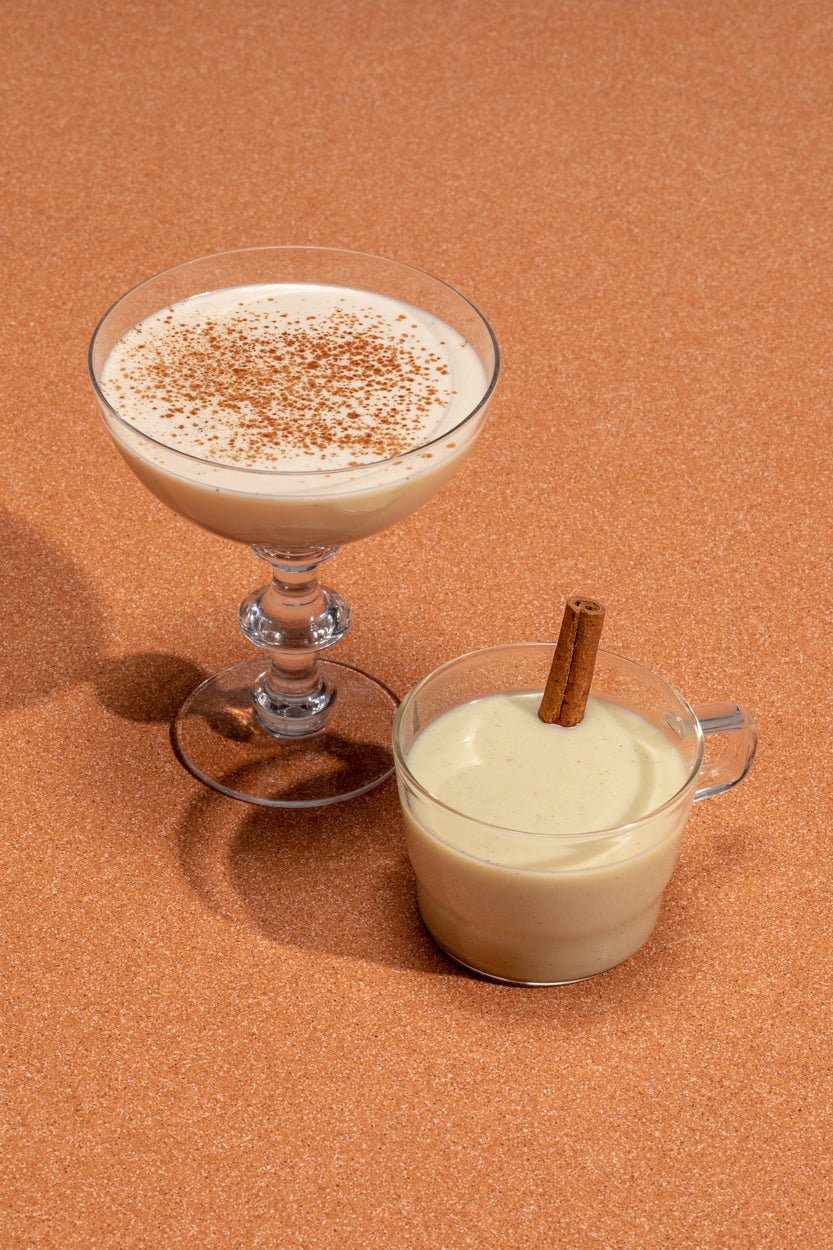 Spiced Mexican Chocolate Nog