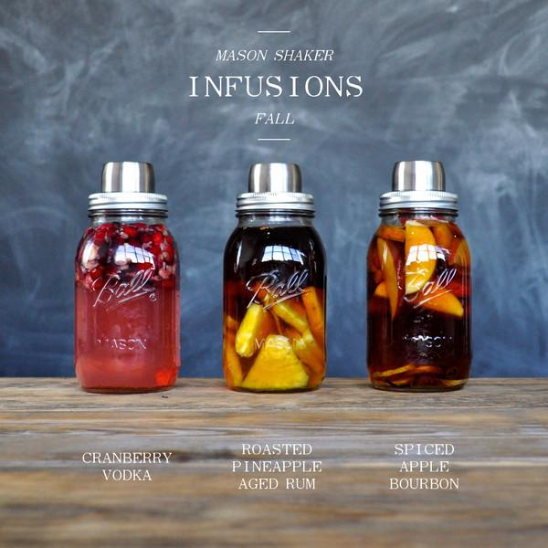 Infused Spirits for Fall