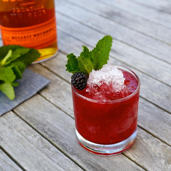 The Blackberry Bourbon Smash