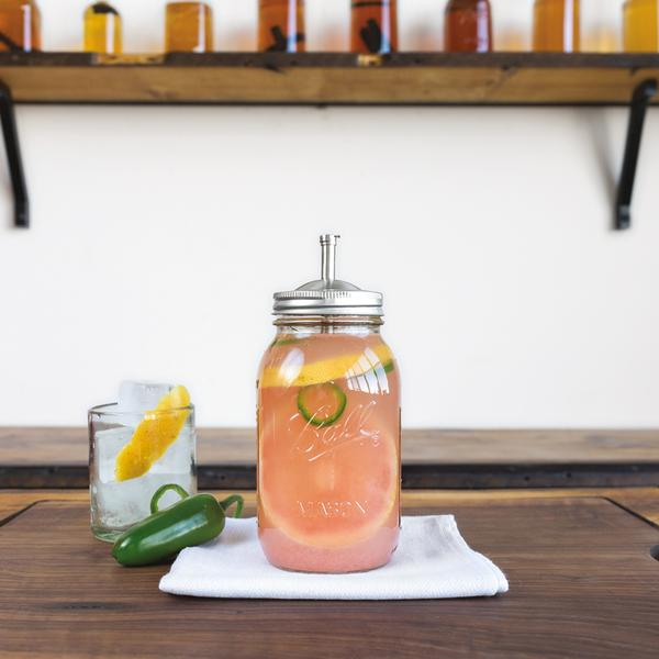 Jalapeño-Spiked Grapefruit Water