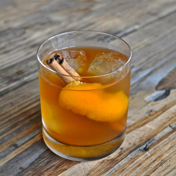 The Spiced Rum Old Fashioned
