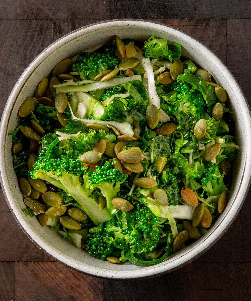 Roasted 'n' Raw: Broccoli Two Ways