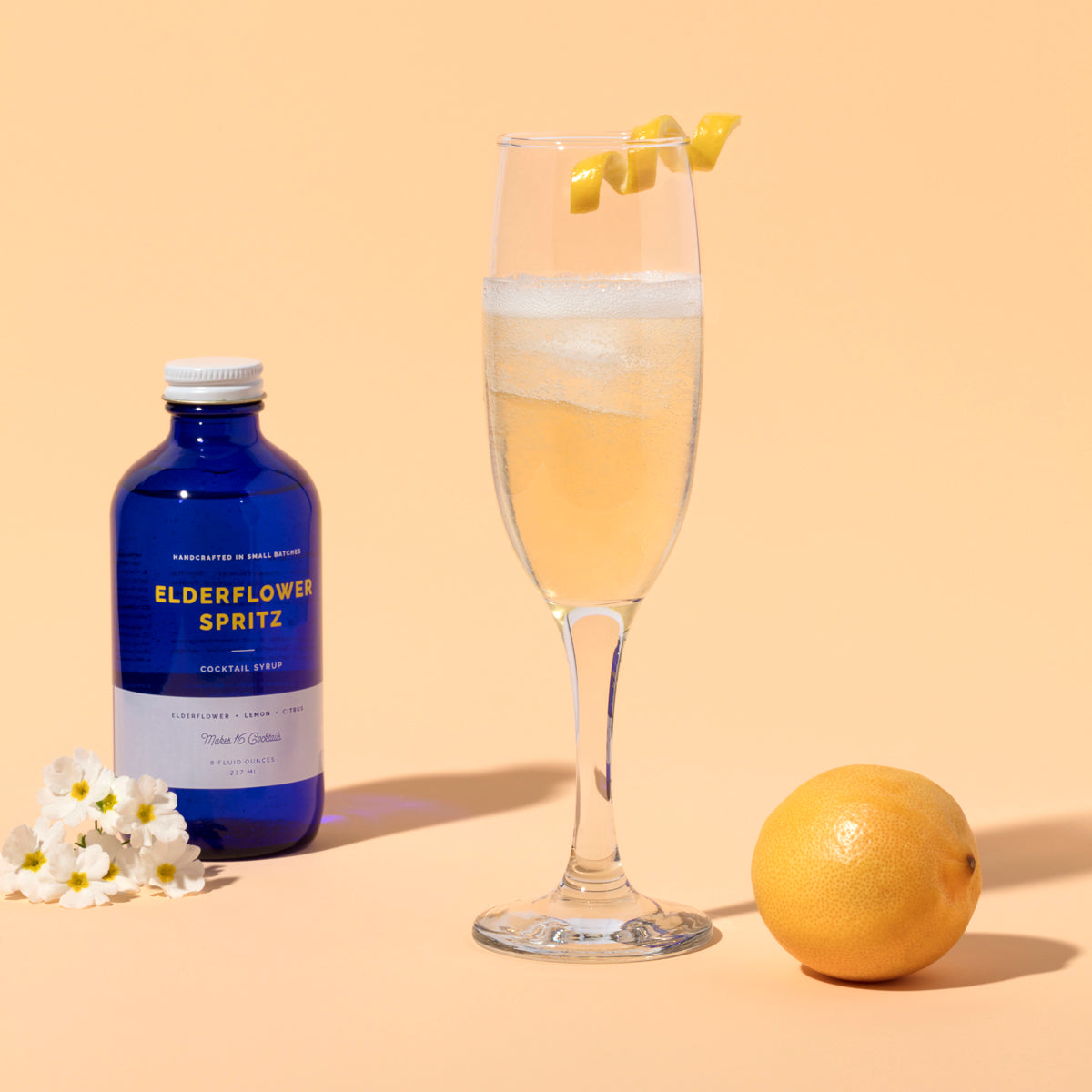 The Elderflower Spritz Cocktail Syrup