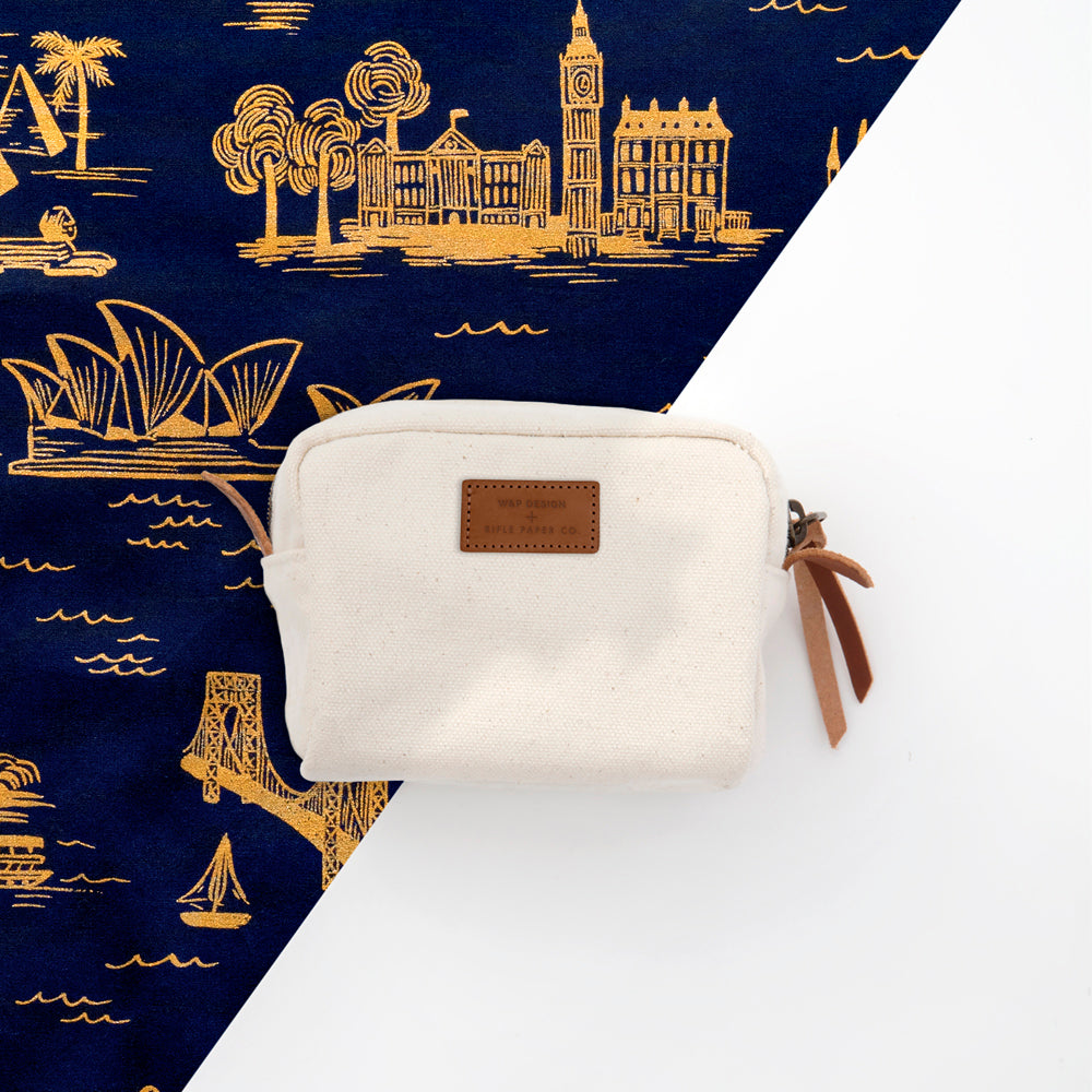 The W&P Design + Rifle Paper Co. Travel Pack