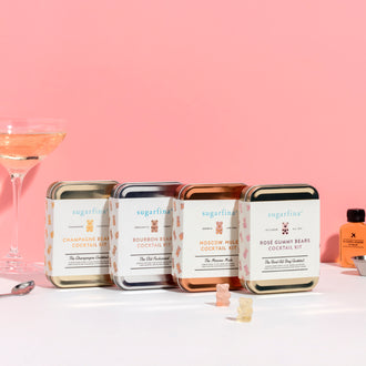 Sugarfina x W&P Carry On Cocktail Kits
