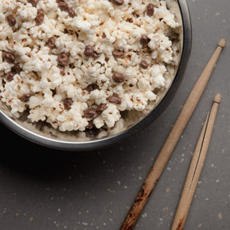 Popcorn with Homemade Raisinettes