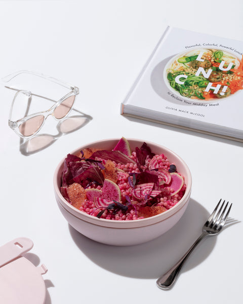 lunch bowl pink