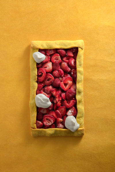Strawberry Tamarind Tart