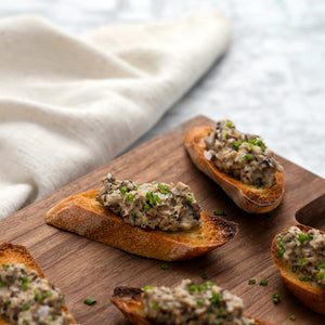 Wild Mushroom Toast with Cream and Thyme