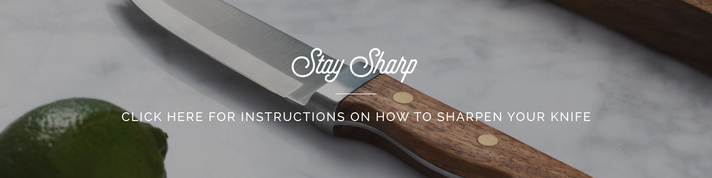 Sharpening Instructions