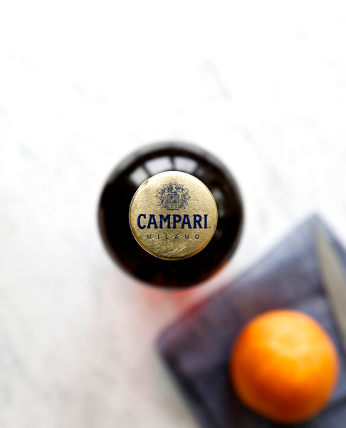 campari cap with orange
