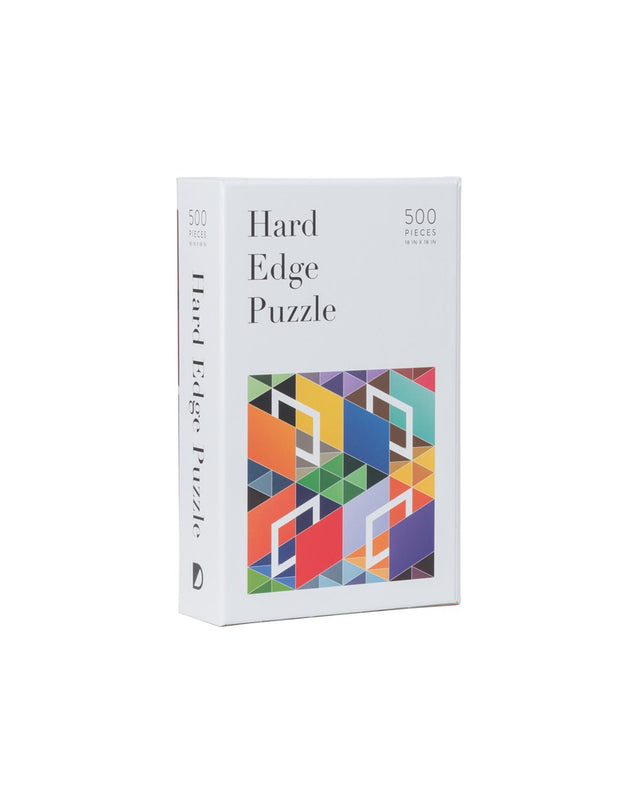 Hard-Edge 500-Piece Puzzle