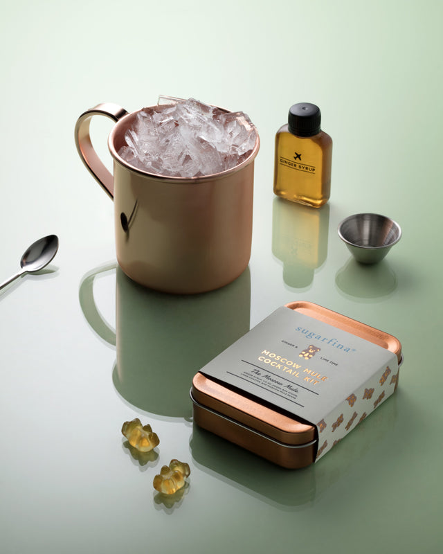 Moscow Mule Bears Cocktail Kit
