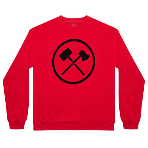 Logo-Sweatshirt-Red--front