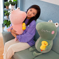 Soft Lovely Plush Crocodile Toy Birthday Gift Stuffed Cute Animal Doll