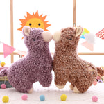 Cute Plush Alpaca Dolls Pillow Stuffed Animal Toys Kids Gift