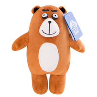 Cartoon Soft Cute Plush Bear for Kids Girls Stuffed Teddy Bear Toy