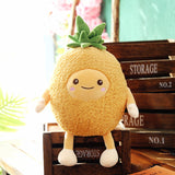 Cartoon Stuffed Pineapple Fruit Pillow Super Cute Apple Plush Toy
