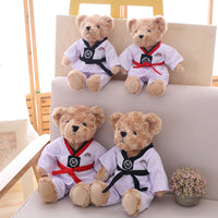 Soft Cartoon Teddy Bear Doll Stuffed Bear Toy Plush Kids Pillow