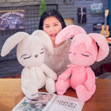 Cute Plush Fat Rabbit Toy Giant Stuffed Bunny Pillow Kids Baby Doll