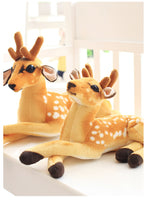 Giant Size Spotted Deer Plush Toys Cute Stuffed Giraffe Doll Kids Toy