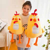 Plush Yellow Chicken Doll Super Cute Cartoon Cock Toy Gifts for Kids