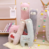 Plush Toy Super Cute Alpaca Toy Soft Stuffed Animal Doll for Kids