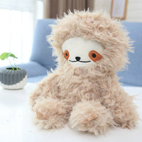 Long Plush Cute Sloth Toy Cartoon Soft Stuffed Animal Pillow