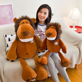 Giant Animal Toy Stuffed Cute Lion Pillow Kids Gifts Soft Plush Doll