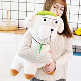 Giant Big Eyes Soft Cute Stuffed Alpaca Toy Cartoon Plush Llama Pillow