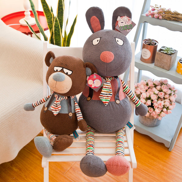Soft Cute Plush Elephant Mouse Bear Toy Stuffed Bear Doll for Kids